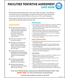 FBA Factsheet Safe Work