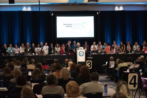 IHA laundry locals recognized at convention