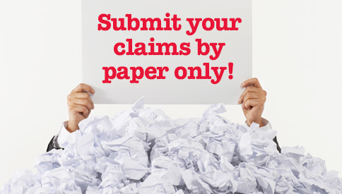 Pacific Blue Cross - submit your claims by paper only