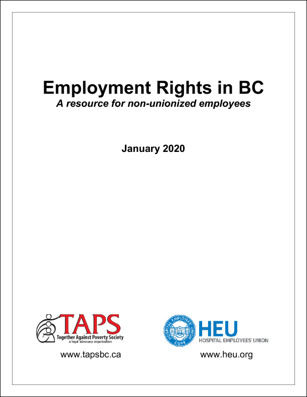Employment Rights in BC