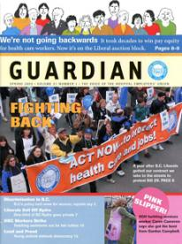 Spring 2003 Guardian cover