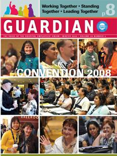 Winter 2008 Guardian cover