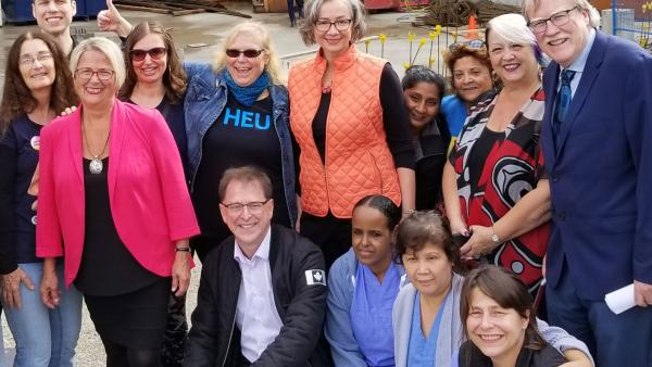 HEU welcomes new health care initiatives