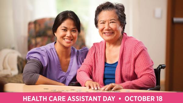 Health Care Assistants Day 2018