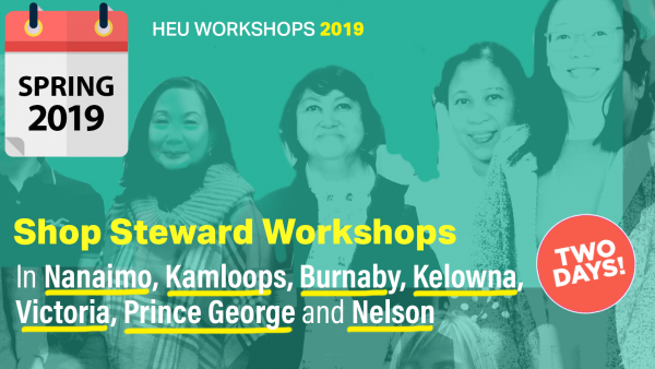 HEU Shop Steward Training 2019