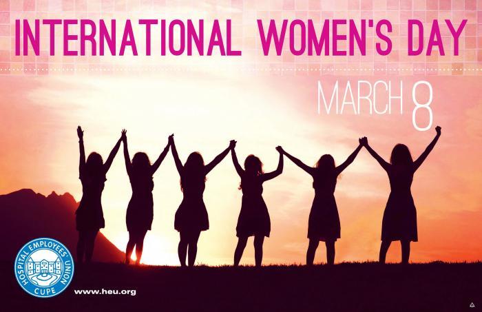 International Women's Day – March 8 | Hospital Employees' Union
